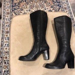 "Born Knee High Black Boots- ""Tatiana"""